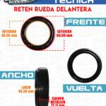 RETEN RUEDA DELANTERA ATOS 1.0L-1.1L