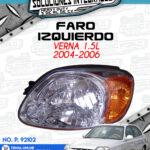 FARO IZQUIERDO VERNA 1.5L 2004-2006