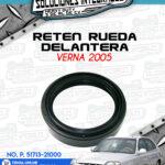 RETEN RUEDA DELANTERA VERNA 2005