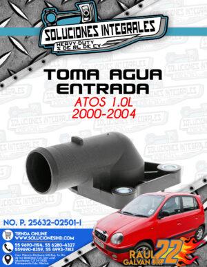 TOMA AGUA ENTRADA ATOS 1.0L 2000-2004