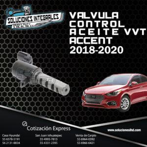 VALVULA CONTROL ACEITE VVT ACCENT 18-20