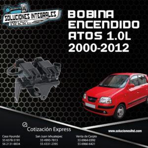 BOBINA ENCENDIDO ATOS 1.0L DEL. 00-12