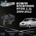 BOBINA ENCENDIDO ATOS 1.1L DEL. 00-12