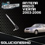 ANTENA RADIO VERNA 1.5L/1.6L 03/06