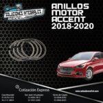 ANILLOS MOTOR ACCENT 18-20