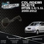 COLADERA ACEITE ATOS 1.0/1.1lL 00-12