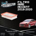 FILTRO AIRE ACCENT 18-20